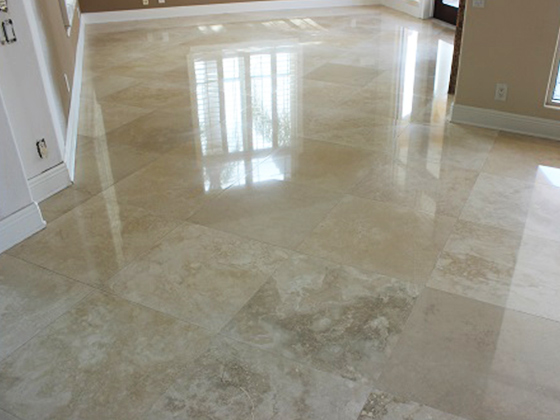 Oldsmar Florida Travertine Repair