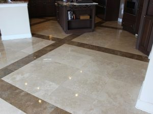 Oldsmar Florida Travertine Honing and Polishing
