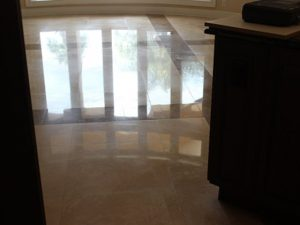 Oldsmar Florida Travertine Restoration