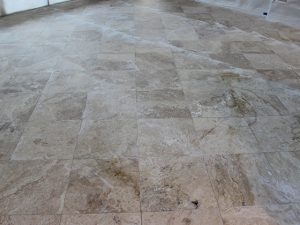 Travertine Restoration Before